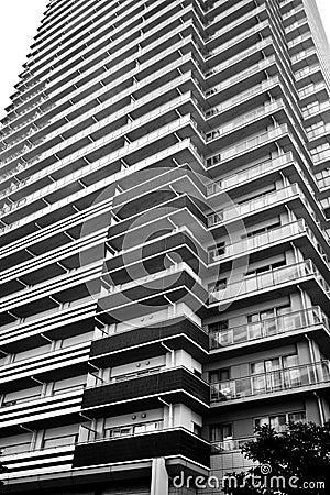 High rise residential apartment