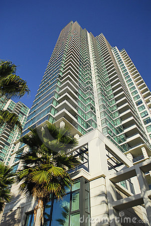 High rise residential tower in San Diego