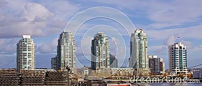 High rise skyline