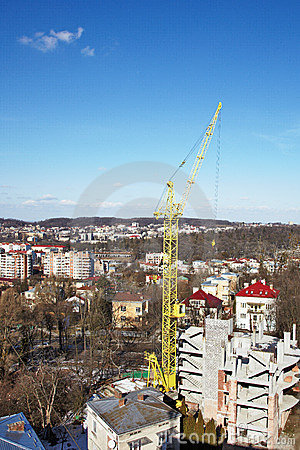 High-rise tower crane