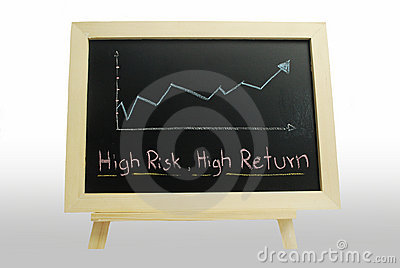 High risk High return - business text