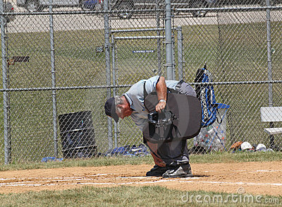 High School Baseball Umpire