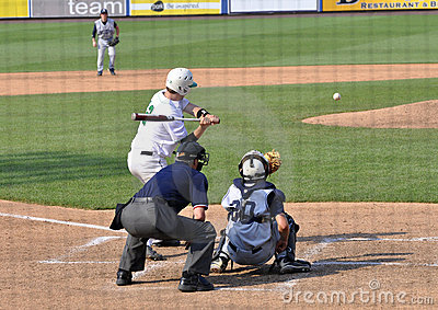 High School championship baseball game Editorial Image