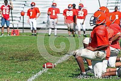 High School Football Line