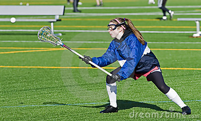 High School Girls Lacrosse practice