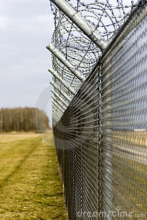 Free High Security Fence Royalty Free Stock Images - 13512569