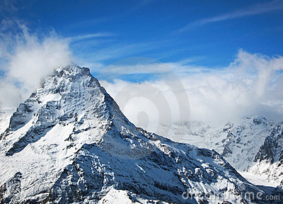 High snow mountains, Elbrus