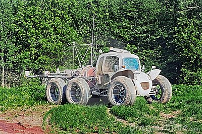 The high-speed agricultural car
