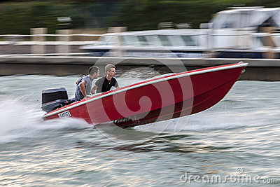 High Speed Boat Editorial Image