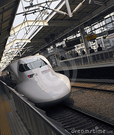 High Speed Bullet Train - Japan