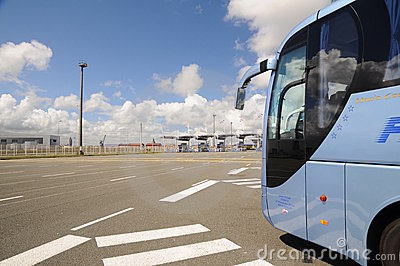 High speed ferry terminal - Gate Calais France Editorial Photo