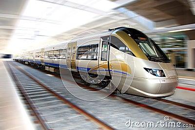 High Speed Gautrain, Gauteng, South Africa Editorial Photo
