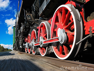 High speed steam locomotive