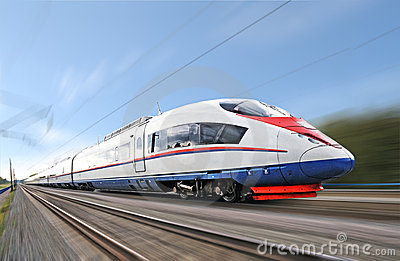 High-speed  train.