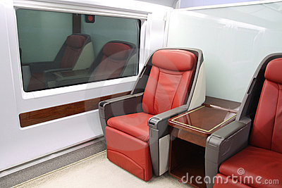 High-speed train seats