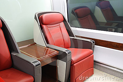 High-speed train seats