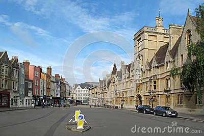 High Street in Oxford