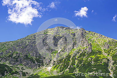High Tatra mountains in Poland