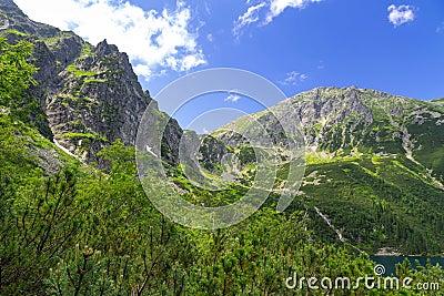 High Tatra mountains in Poland