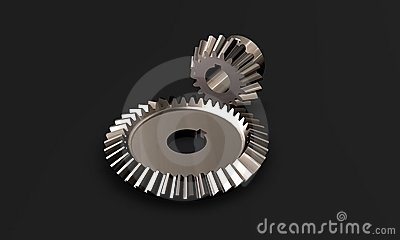 High tech chrome gears
