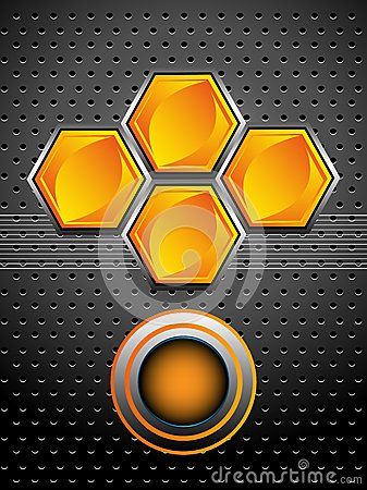 High tech honeycomb design