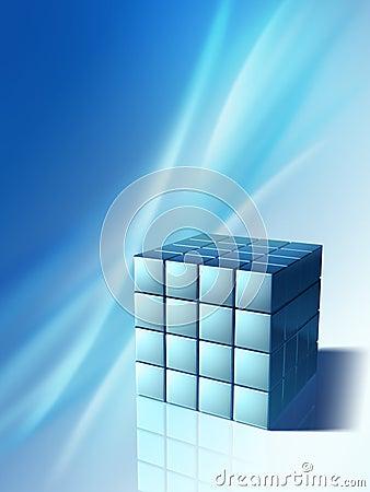 High technology cube
