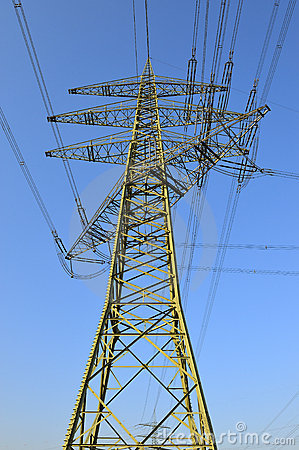 High tension electrical power