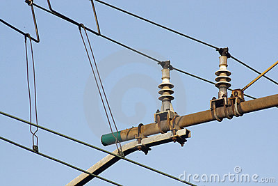 High tension line