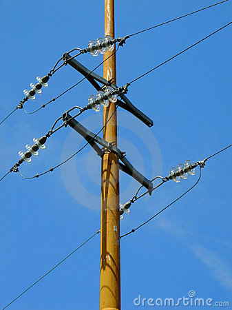 High Tension Power Line