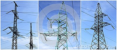 High-tension power line