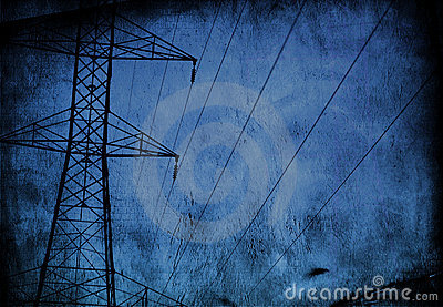 High Tension wire Grunge