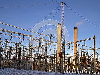High voltage.
