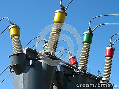 High voltage electric converters details