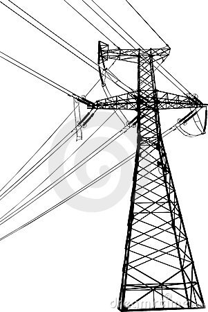 Free High Voltage Electric Line Stock Images - 12609044