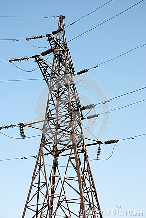 High voltage electric power line