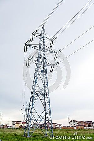 High voltage pillars