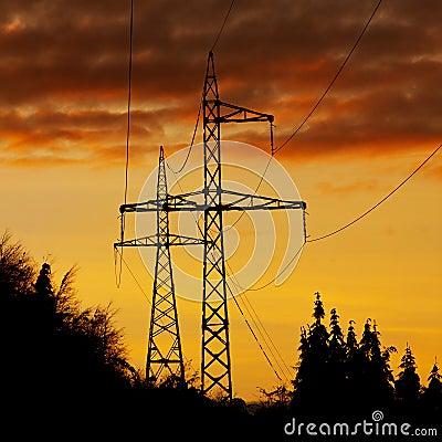 High voltage polls