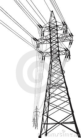 Free High Voltage Power Line Stock Photo - 16485450