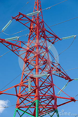 Free High Voltage Power Lines Stock Photos - 28784873