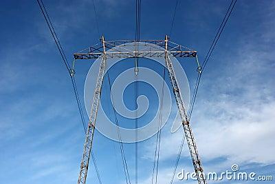 High voltage pylon