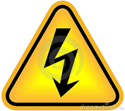 Free High Voltage Sign Royalty Free Stock Photos - 16751008