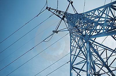 High-voltage tower