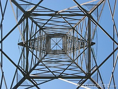 High voltage tower 4