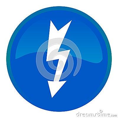 High voltage web button