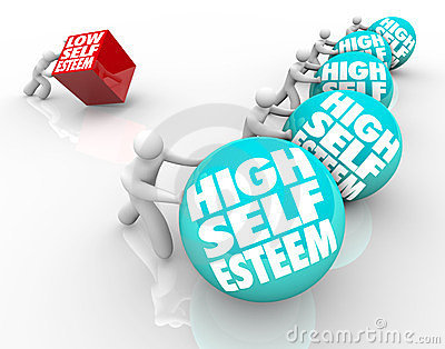 High Vs Low Self Esteem Losing Race of Confidence