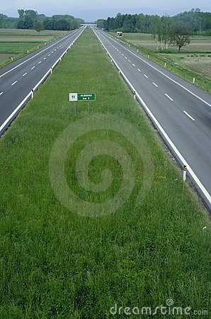 High way straight