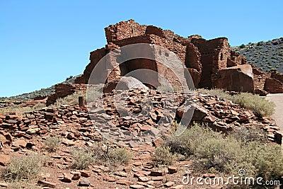 High Wupatki Pueblo Ruins