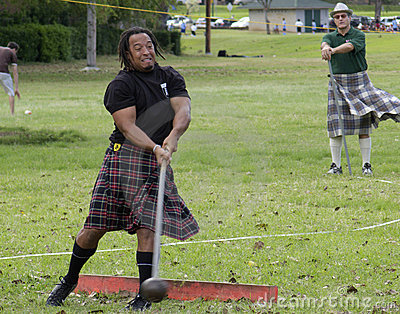 Highland Games 1 Editorial Photography