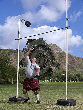 Highland Games 10 Editorial Stock Photo