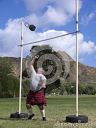 Highland Games 10 Editorial Stock Photo